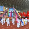 Hình ảnh lễ khai mạc hội khỏe Phù Đổng
